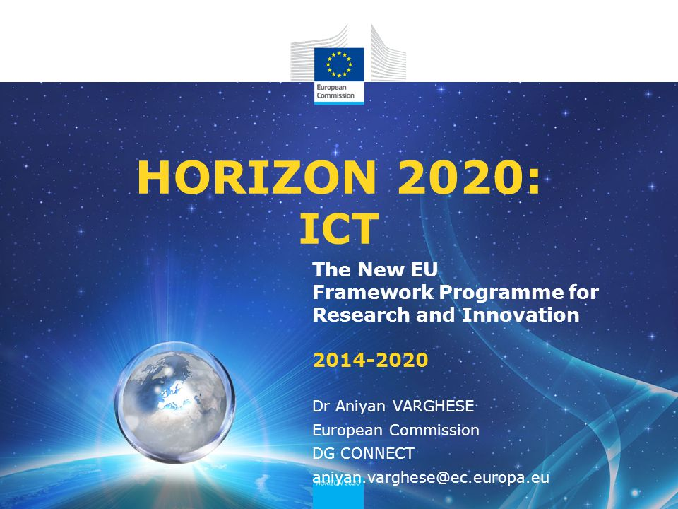 Framework Research Programme The New eu Framework Programme