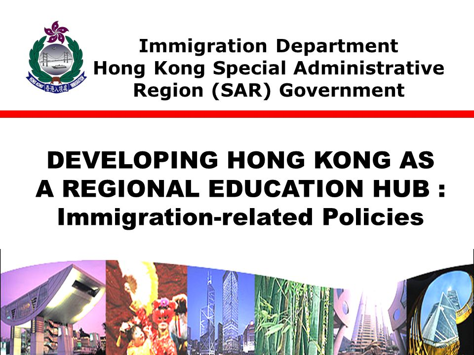 Immigration Department Hong Kong SAR Government The Relaxed Policies TODAY'S ITINERARY Relaxed employment restrictions Immigration Arrangements for Non-local Graduates (IANG) Questions and answers session