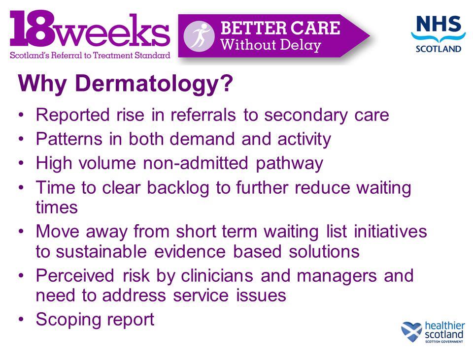 Why Dermatology.