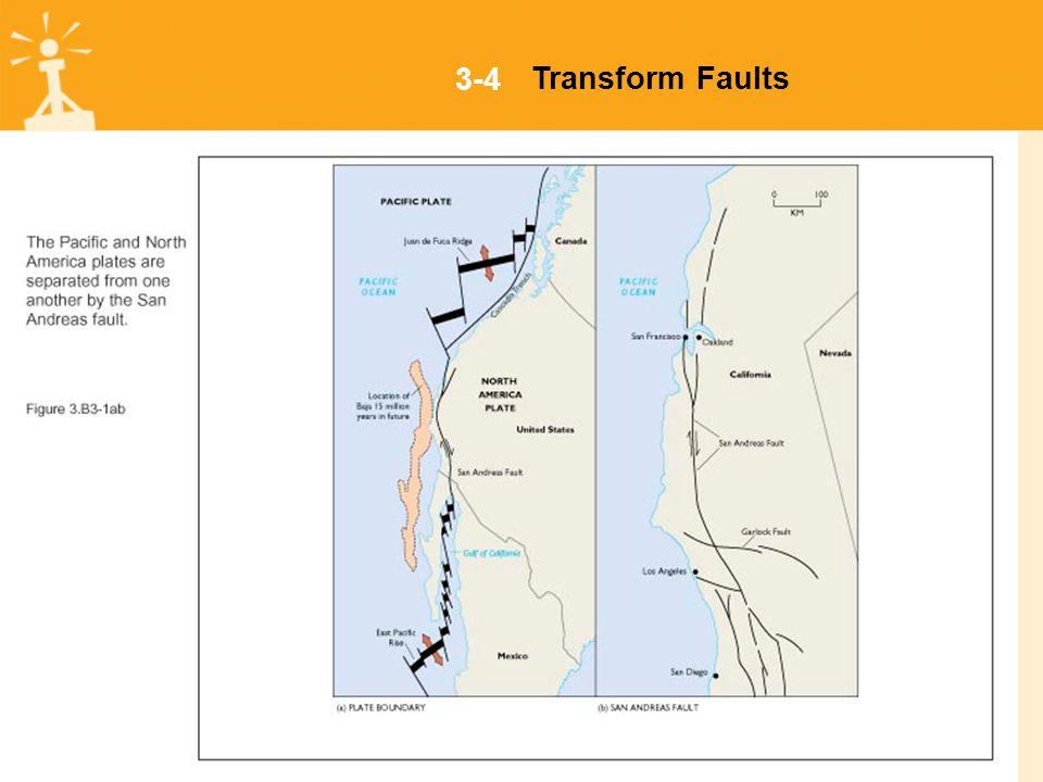 3-4Transform Faults