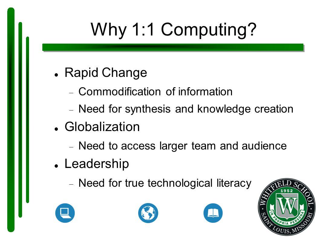 Why 1:1 Computing.