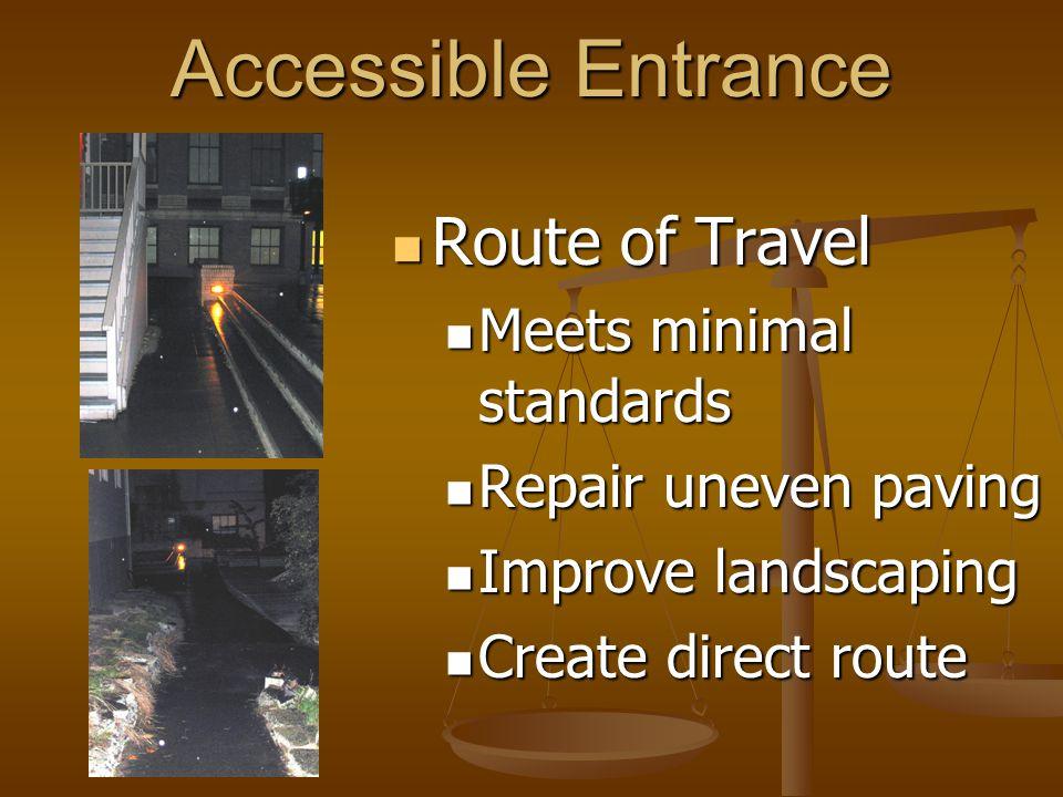 Access Routes