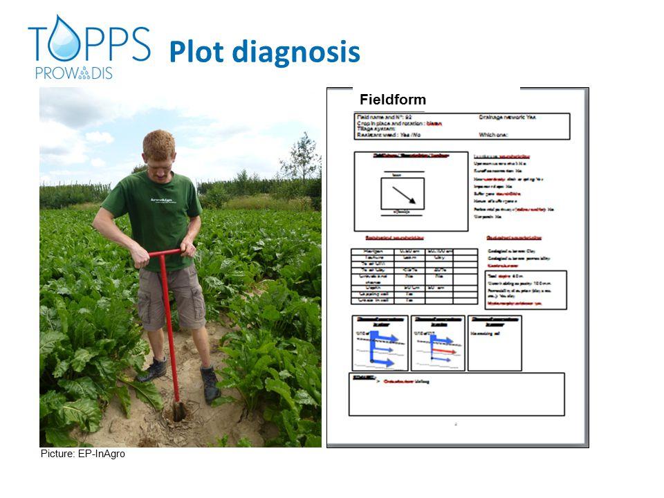 Plot diagnosis Fieldform Picture: EP-InAgro