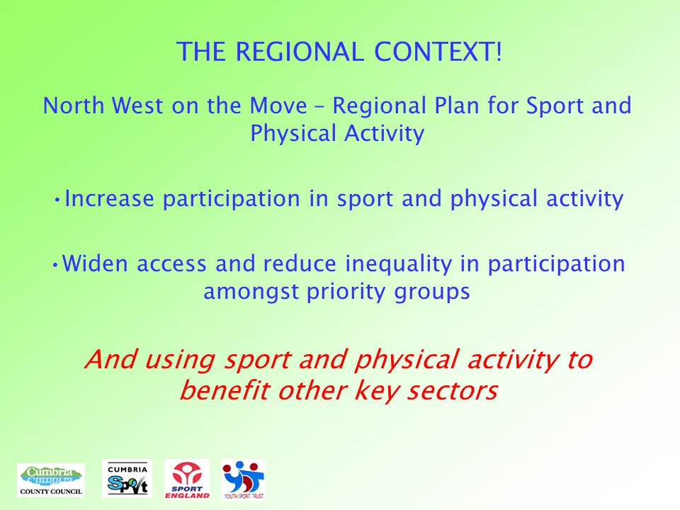 THE REGIONAL CONTEXT.