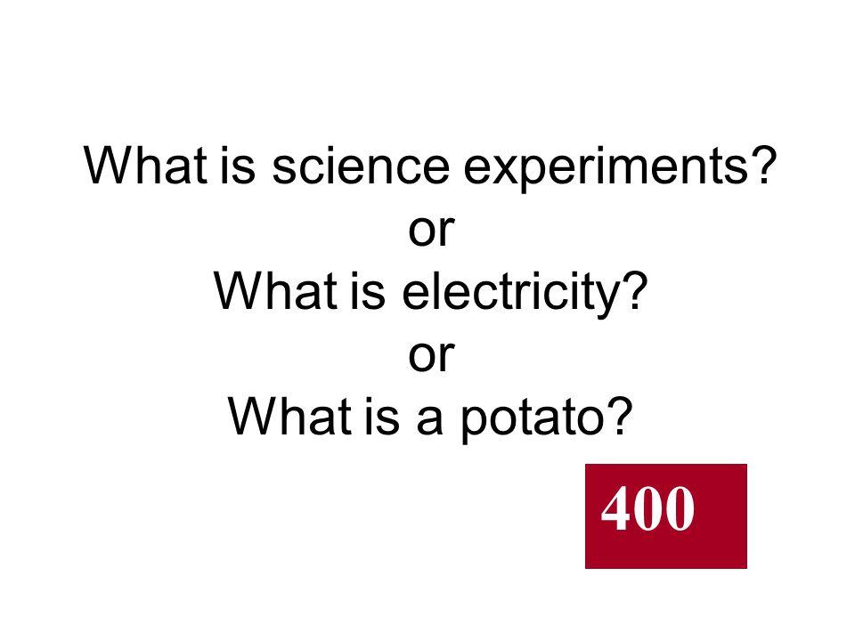 Electric Potato