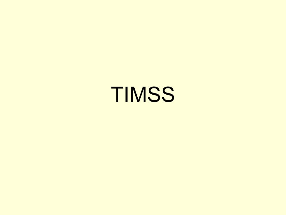 TIMSS
