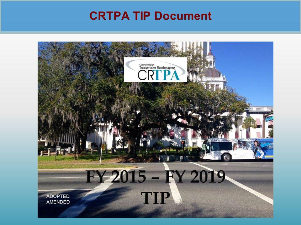 CRTPA TIP Document