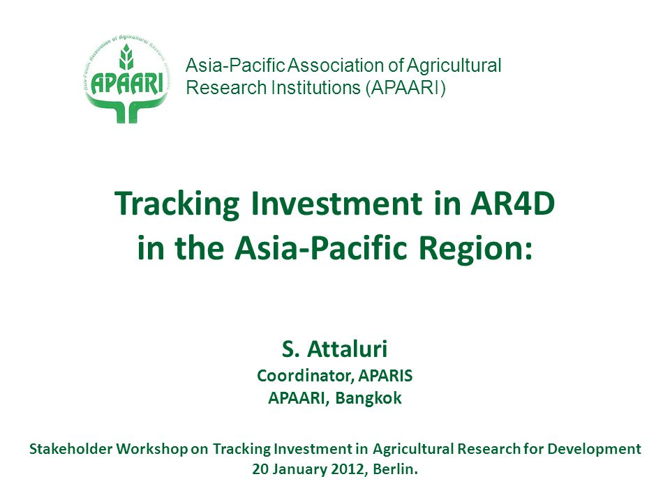  Accelerated science and innovation-led agricultural growth through better understanding of socio-economic factors, effective management of human and financial resources  Agricultural research planning, priority setting, monitoring and evaluation and impact assessment  Policy formulation and policy debate  Strengths, weaknesses, and potential opportunities of agricultural S&T systems at different levels (institutional, sectoral, national, regional, international) Knowledge on Investment and Human Capacities