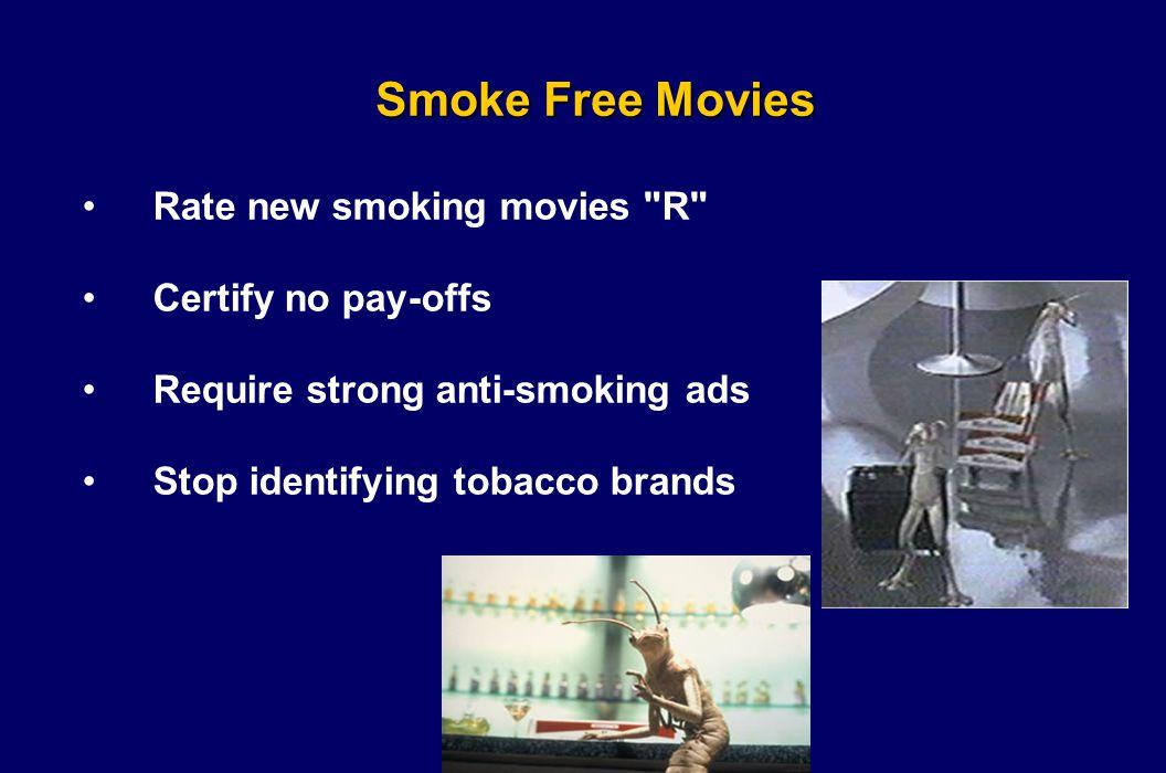 Smoke Free Movies Rate new smoking movies