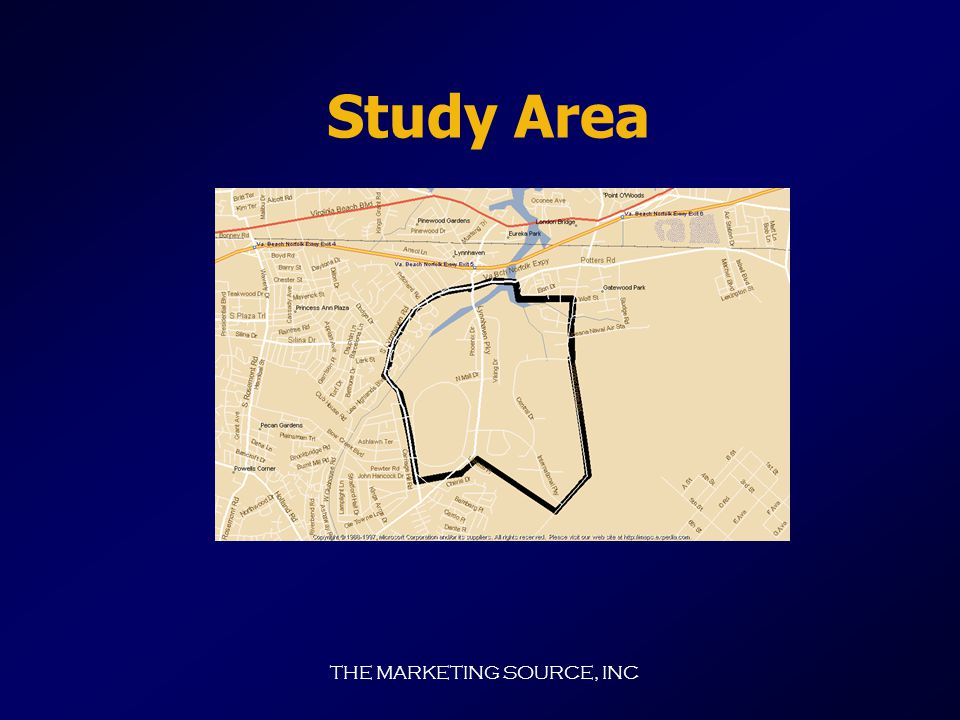 THE MARKETING SOURCE, INC 2000 Lynnhaven/Oceana Area Transportation Needs Assessment Study Sponsored by