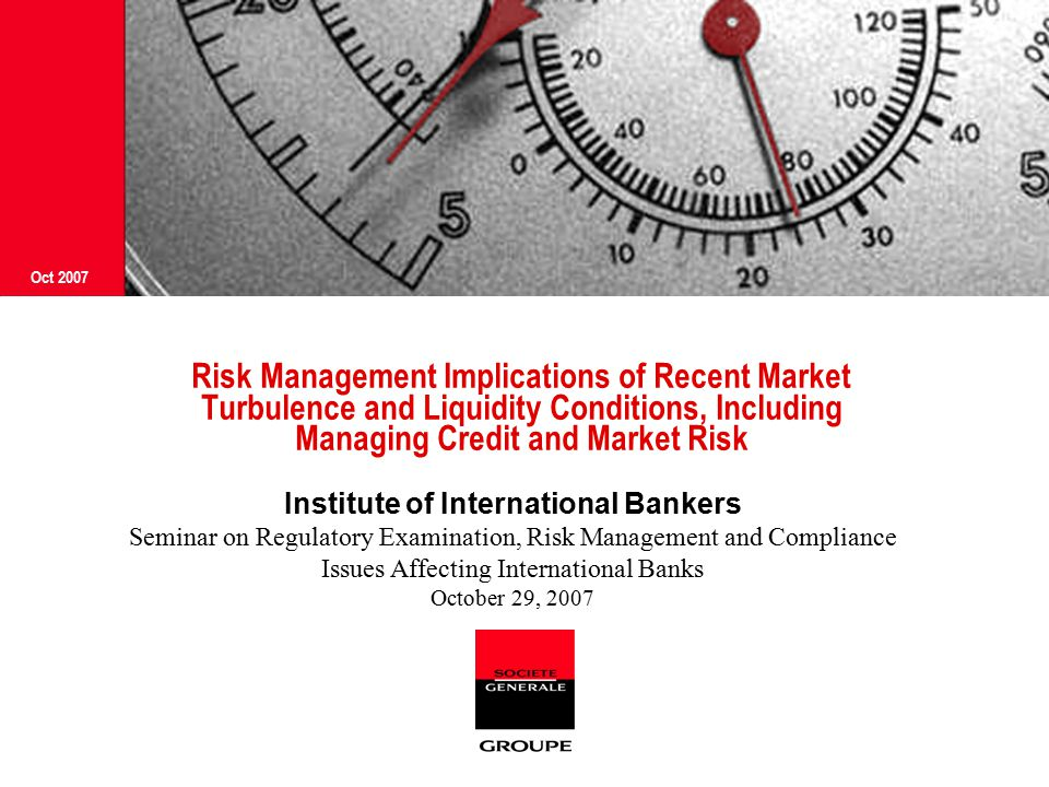 IIB Seminar on Regulatory Examination, Risk Management and Compliance Issues OCT 2007 11 Aggregate delinquency rates trending upward Delinquent loans are those past due thirty days or more and still accruing interest as well as those in nonaccrual status.