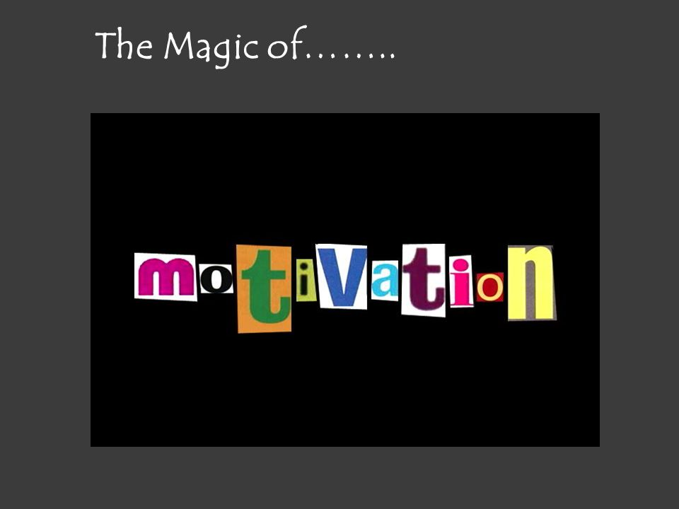 The Magic of……..