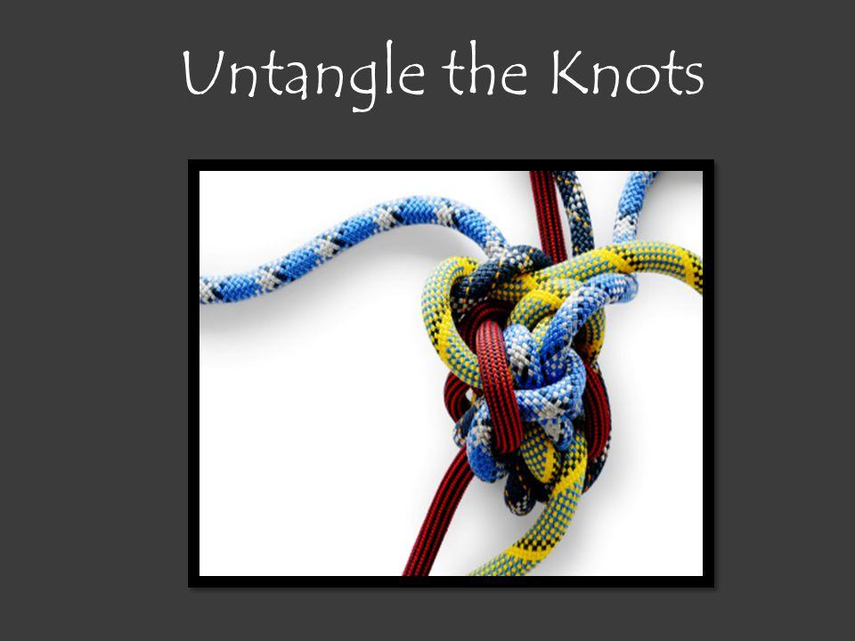 Untangle the Knots