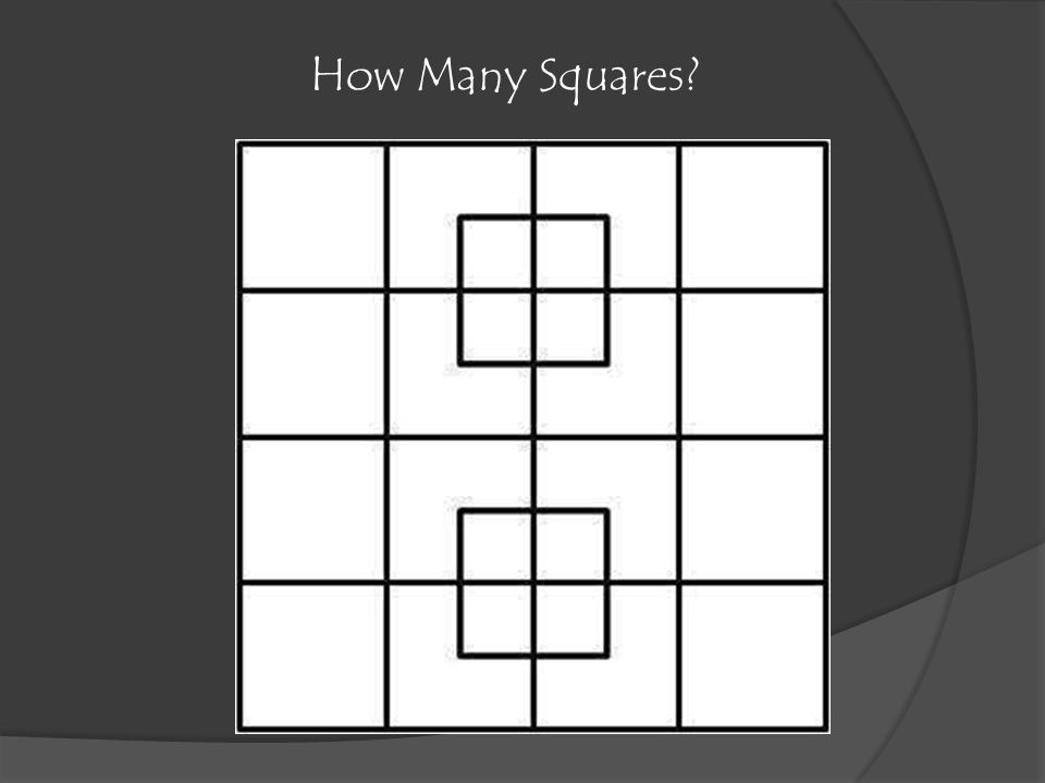 How Many Squares