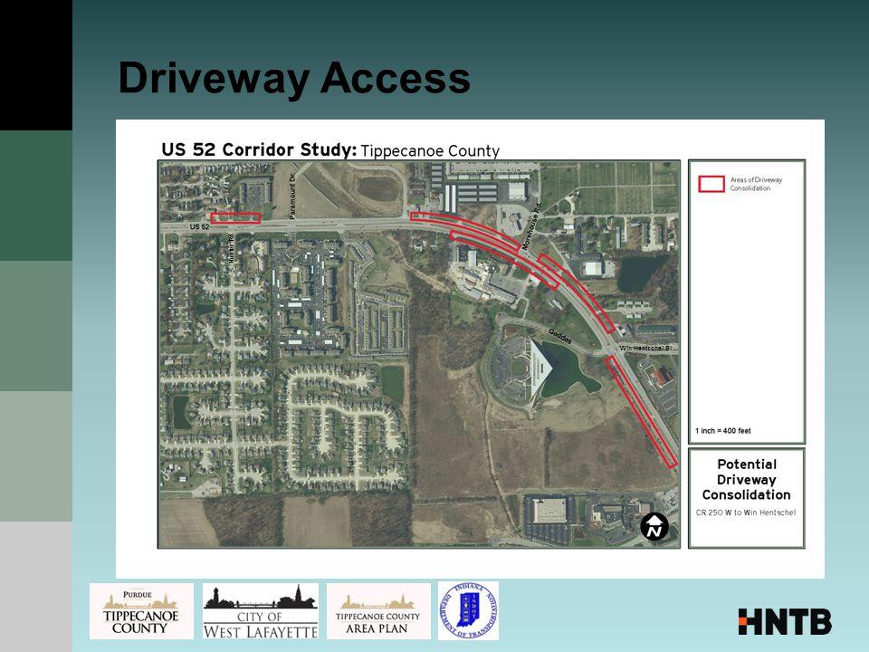Driveway Access Hunter Rd. Win Hentschel Bl.