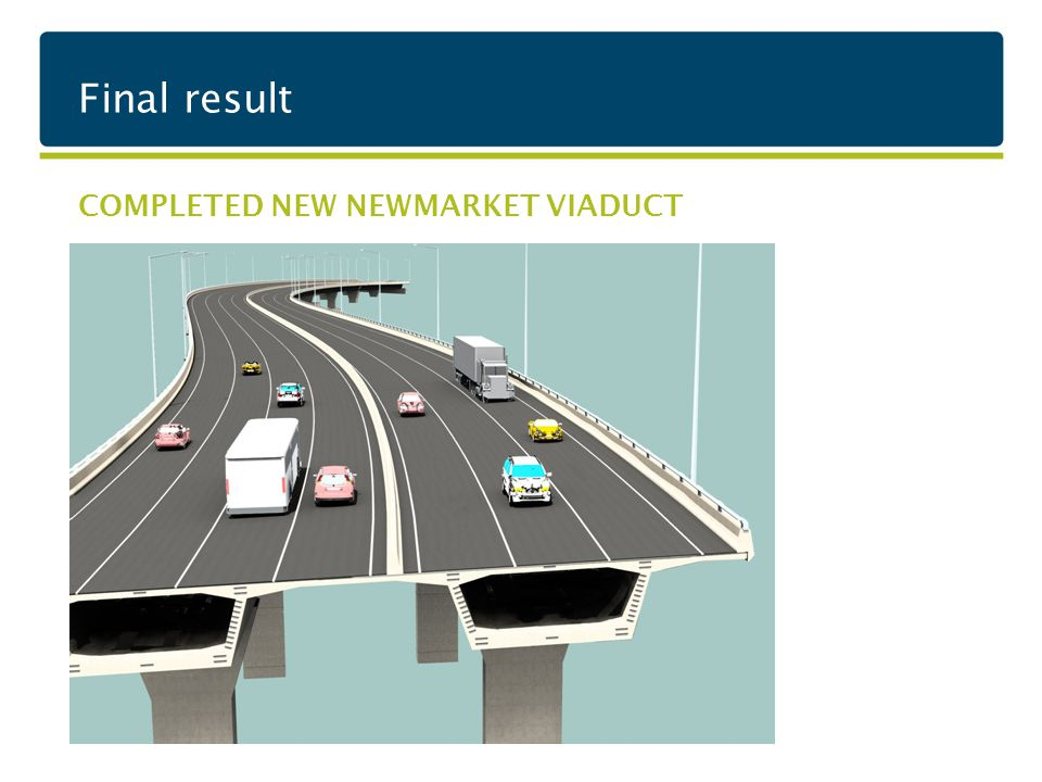 Final result COMPLETED NEW NEWMARKET VIADUCT