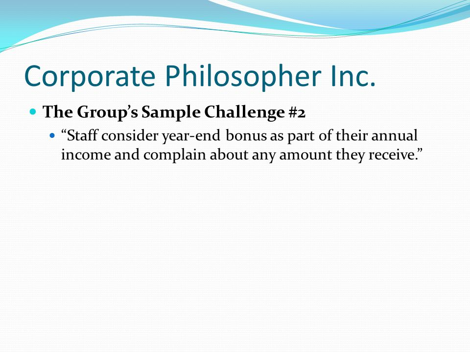 Corporate Philosopher Inc.