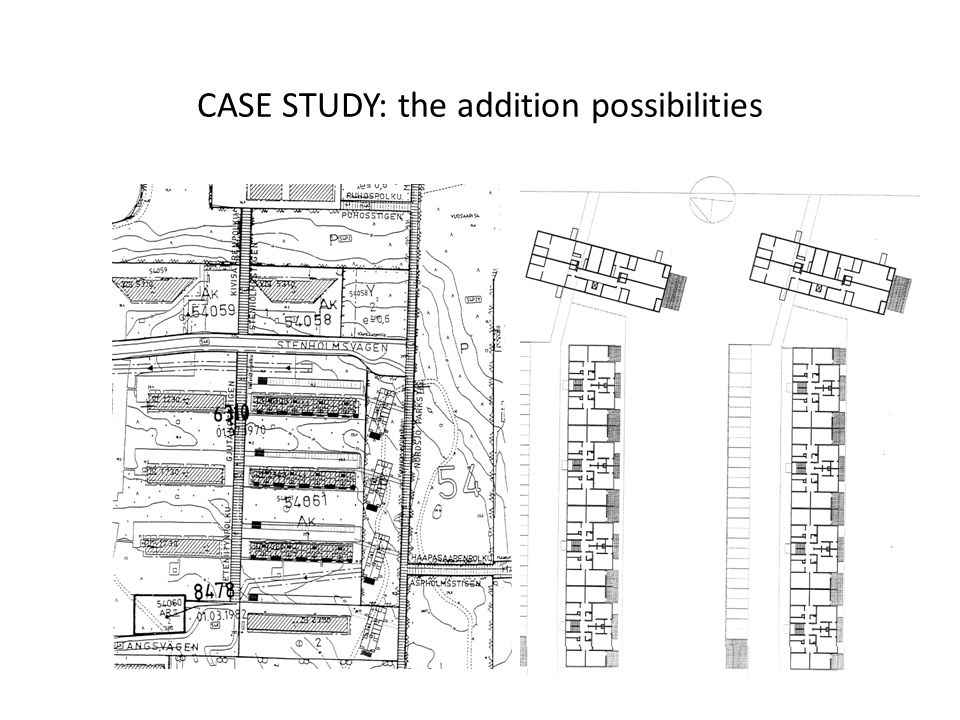 CASE STUDY: the addition possibilities
