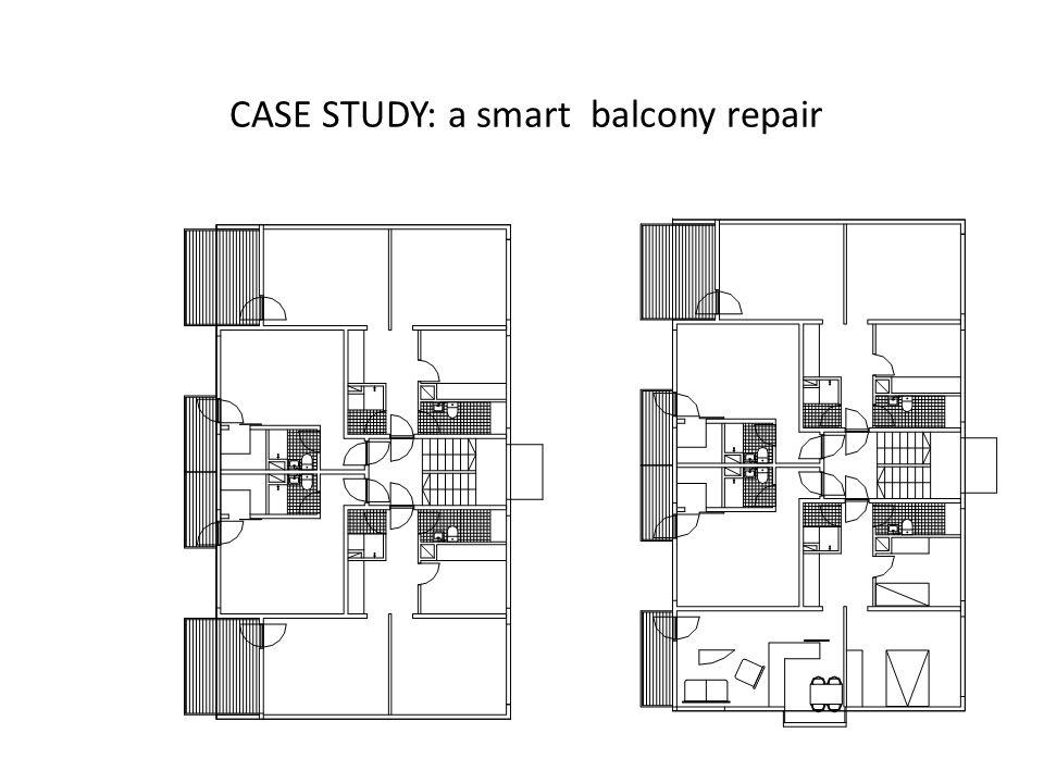 CASE STUDY: a smart balcony repair