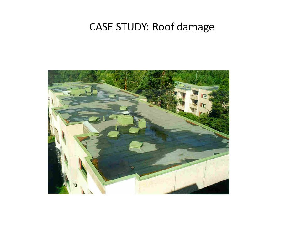 CASE STUDY: Roof damage