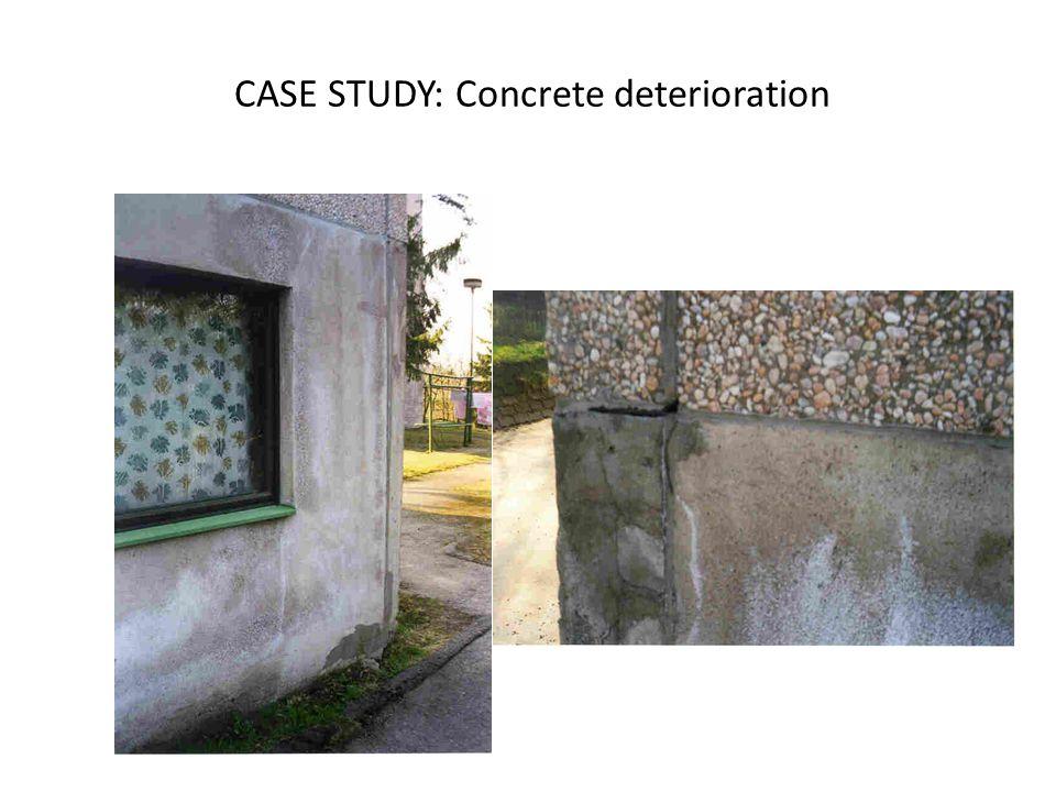 CASE STUDY: Concrete deterioration