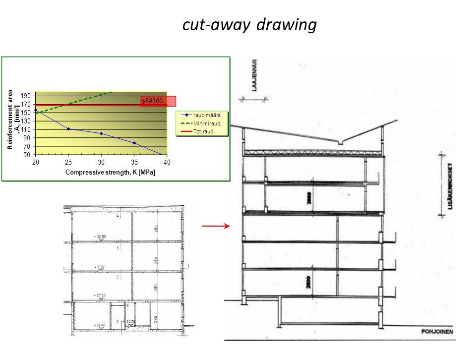 cut-away drawing