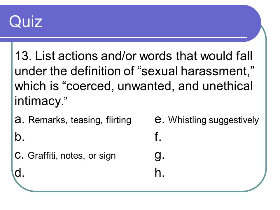 Quiz 13.