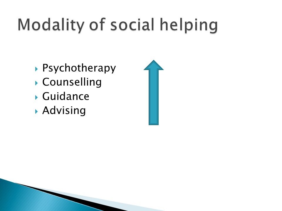  Psychotherapy  Counselling  Guidance  Advising