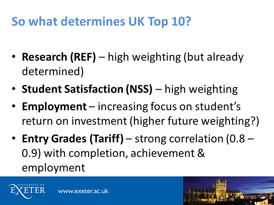 So what determines UK Top 10.