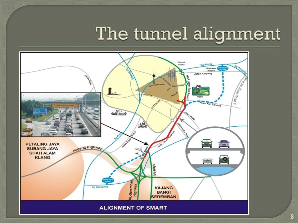 Making the breakthrough on 11 December 2004 SMART – tunneled through karstic limestone and unconsolidated alluvium