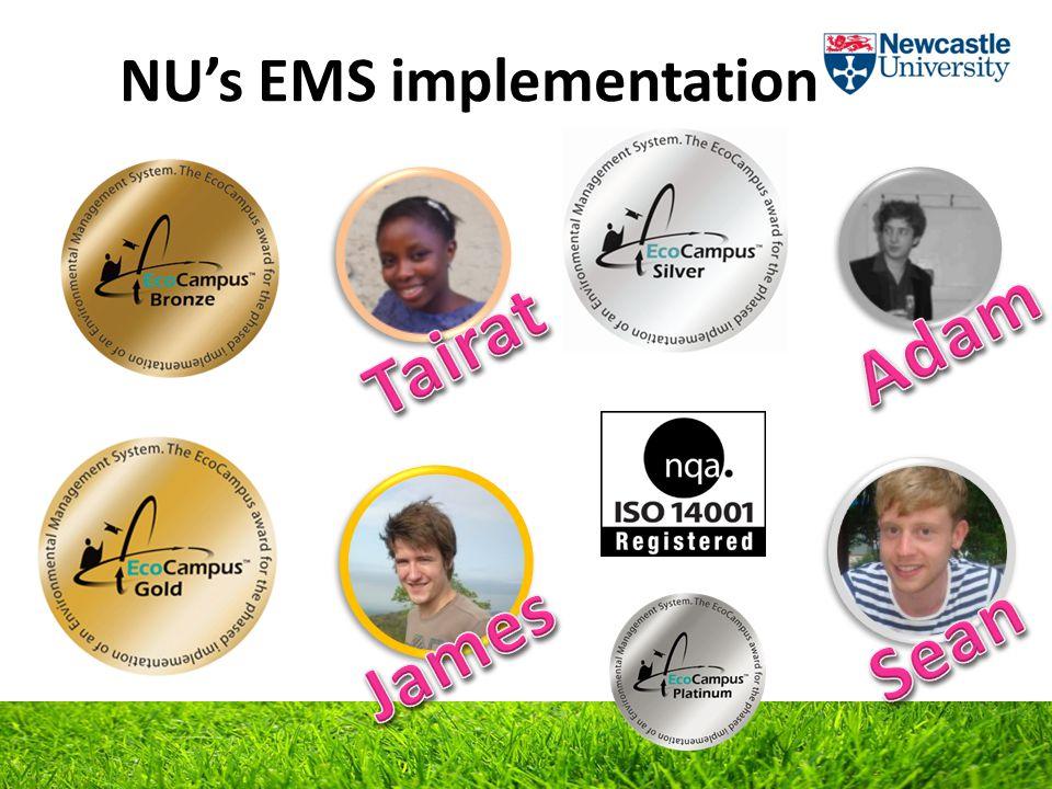 NU's EMS implementation