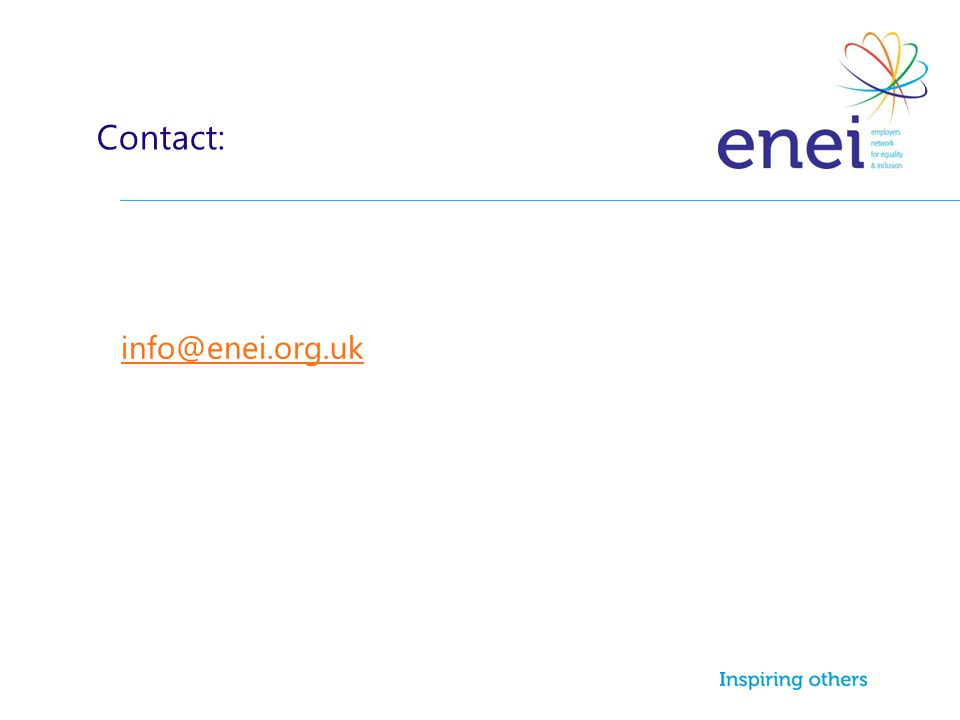 info@enei.org.uk Contact: