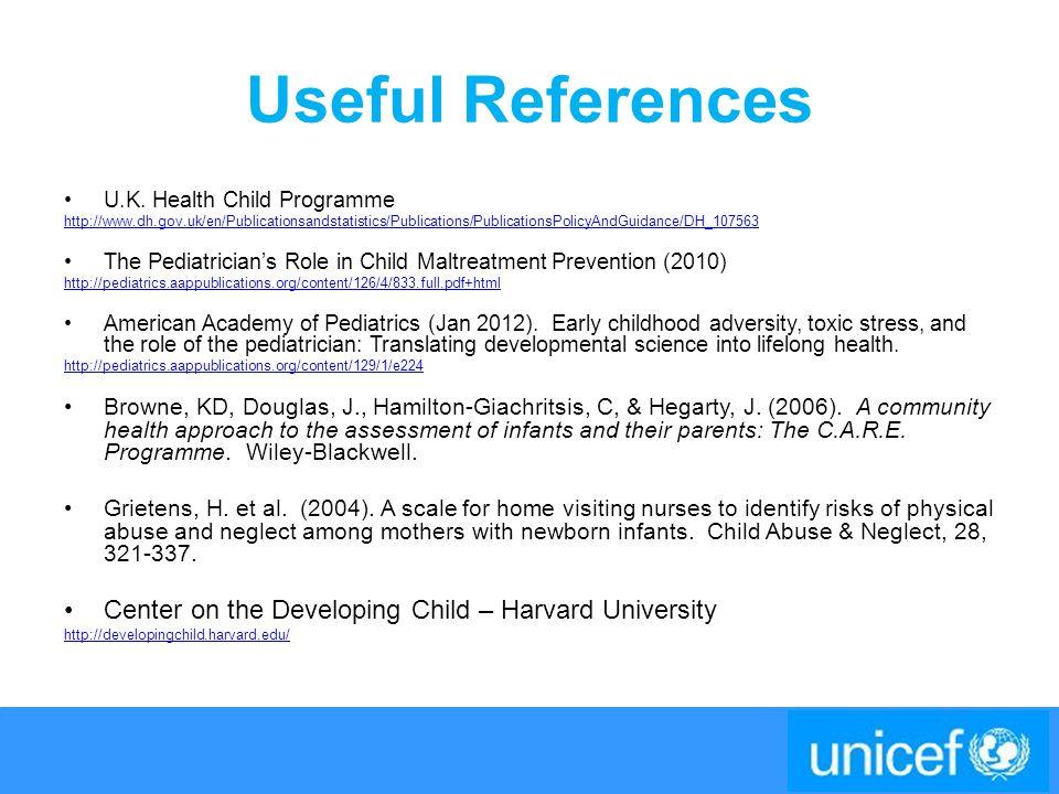 Useful References U.K.