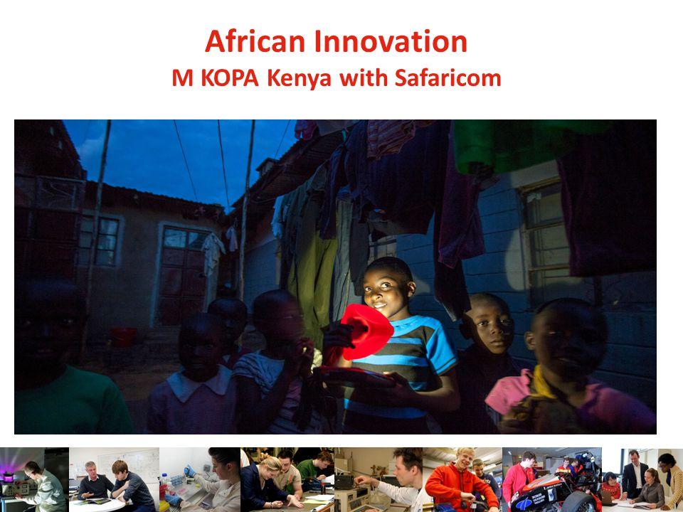 African Innovation M KOPA Kenya with Safaricom