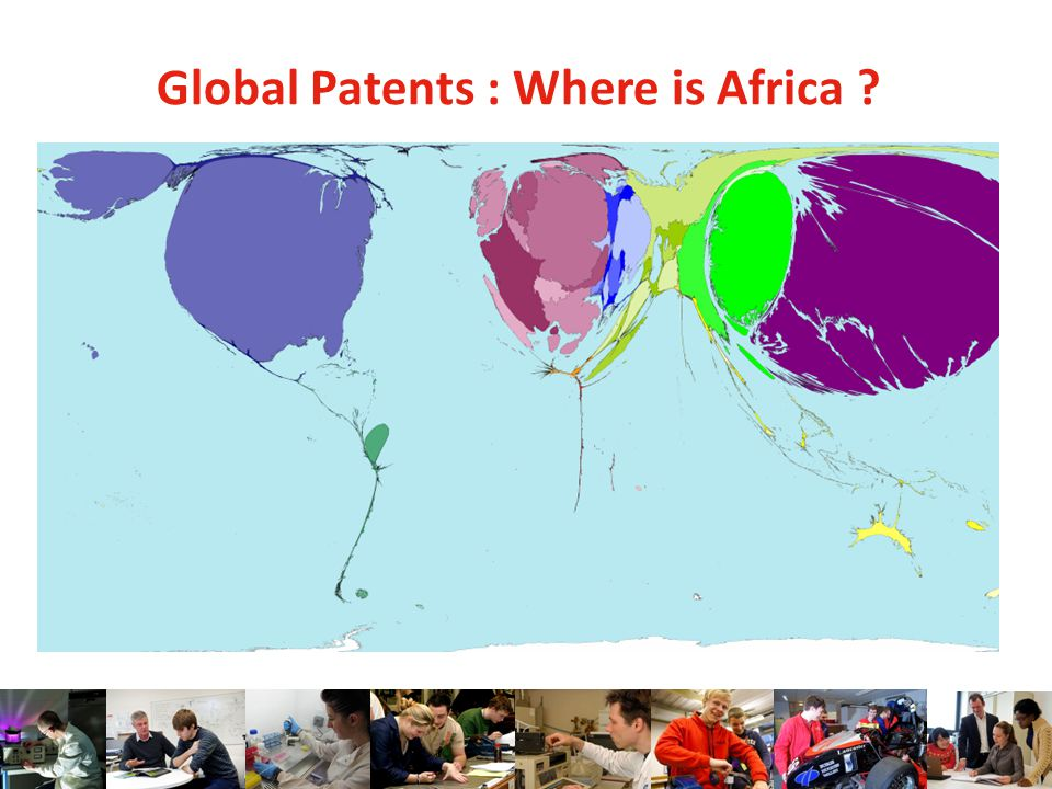 Global Patents : Where is Africa ?