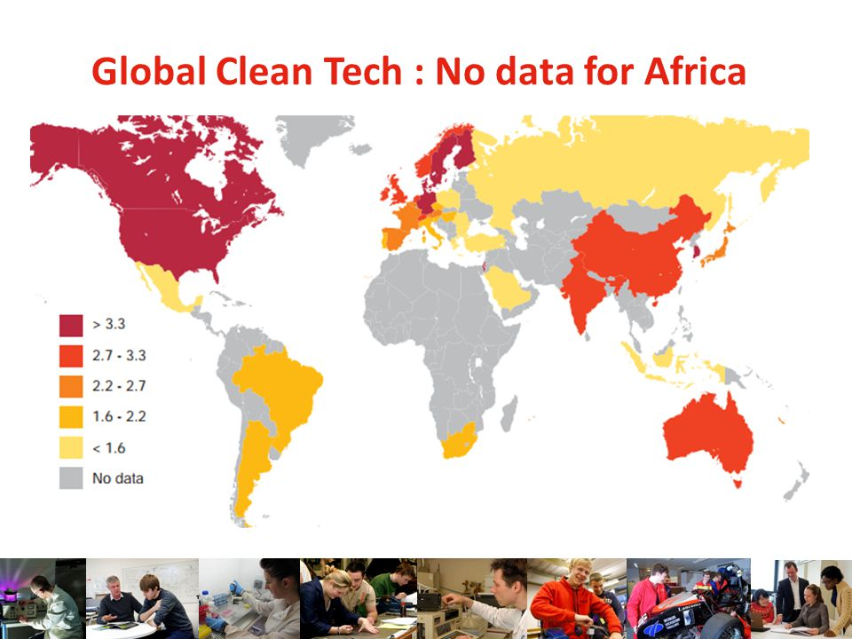 Global Clean Tech : No data for Africa