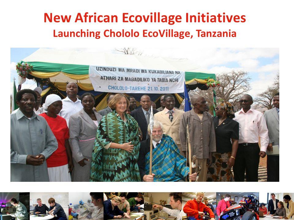 New African Ecovillage Initiatives Launching Chololo EcoVillage, Tanzania