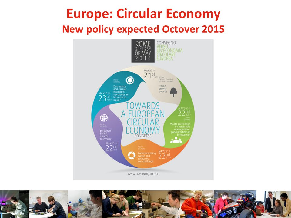 Europe: Circular Economy New policy expected Octover 2015