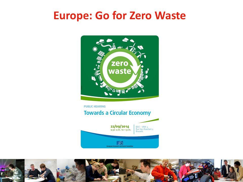 Europe: Go for Zero Waste