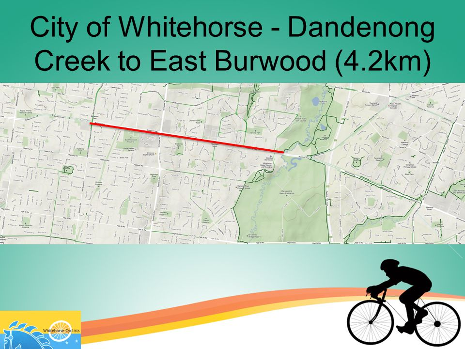 City of Whitehorse - Dandenong Creek to East Burwood (4.2km)