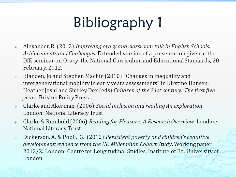 Bibliography 1  Alexander, R.