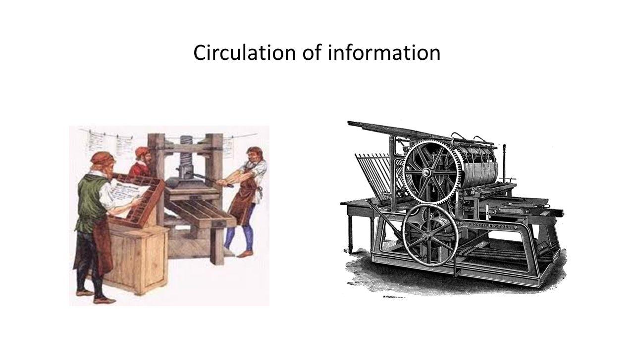 Circulation of information