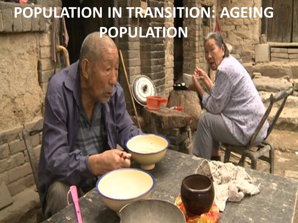 Chinese women are having fewer children, but having a smaller generation follow a boom generation - and longer life expectancies - means that by 2050, it is expected that for every 100 people aged 20-64, there will be 45 people aged over 65, compared with about 15 today.