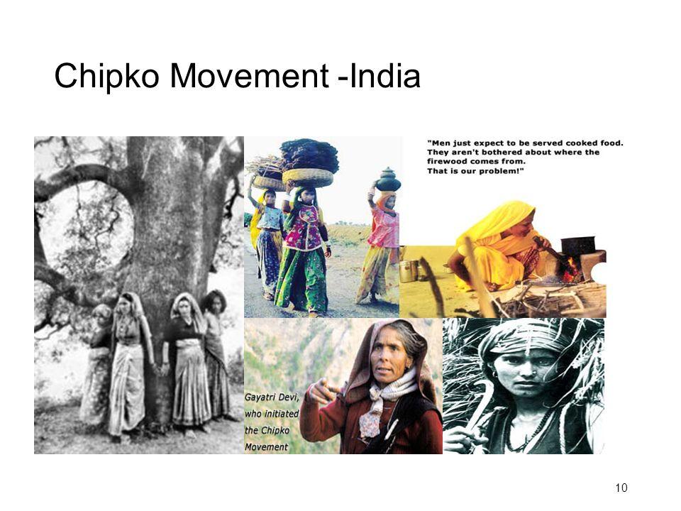 Chipko Movement -India 10