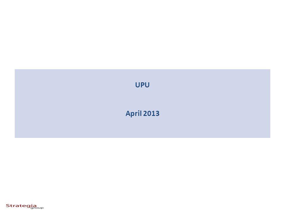 UPU April 2013