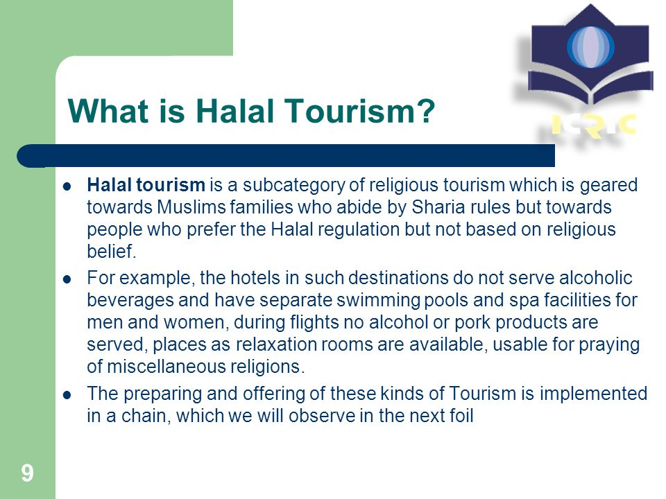What is Halal Tourism.