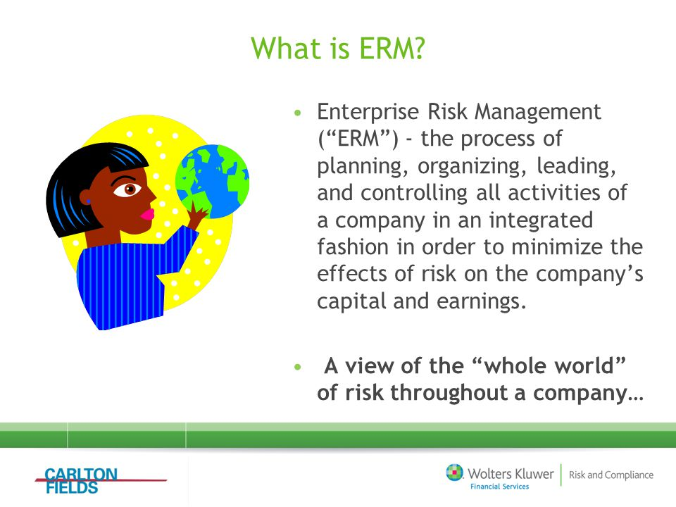Challenge #4 – Developing Best Practice Controls Day-to-day Policies and Procedures are some of the most important kinds of key ERM controls. The two concepts are different, but should be kept as integrated.