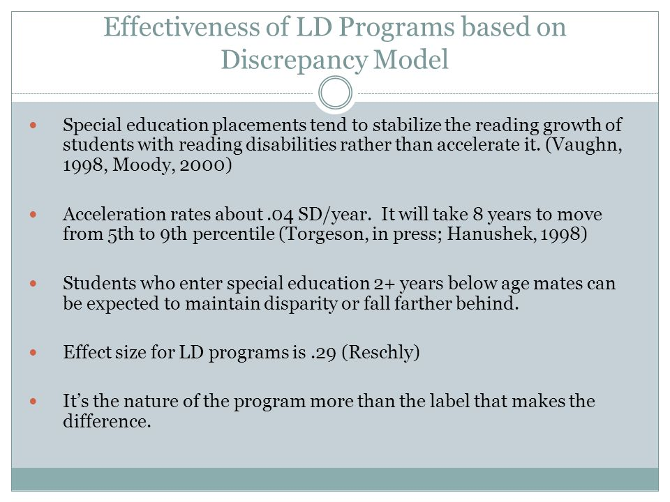 Need to Document the Effectiveness of Special Education Excedrin Headache #1 for Special Education!