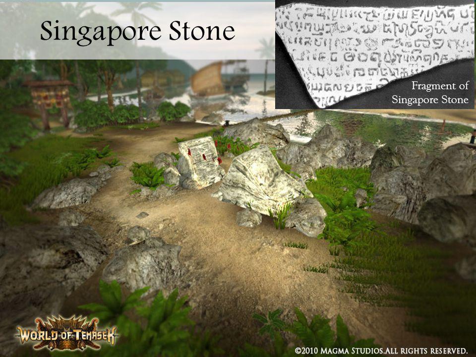 Fragment of Singapore Stone