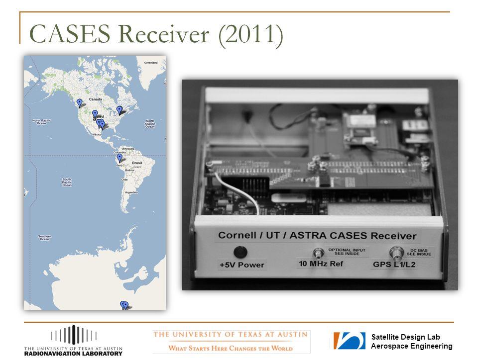 Satellite Design Lab Aerospace Engineering CASES Receiver (2011)